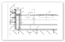 防水シート 見込タイプ 立面図